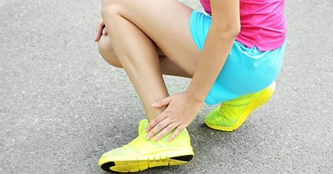 Jogger with foot pain and possible stress fracture