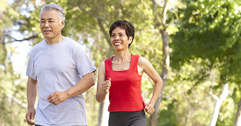 Female runner at risk for femoral neck stress fracture