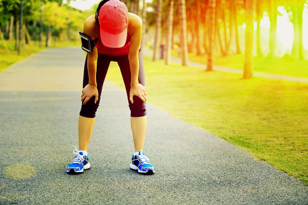 Can running harm your knees?