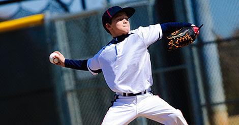Youth pitching injury