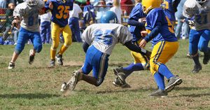 Running back in youth football