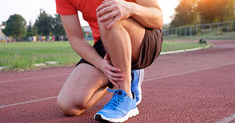 Runner with leg pain and possible stress fracture