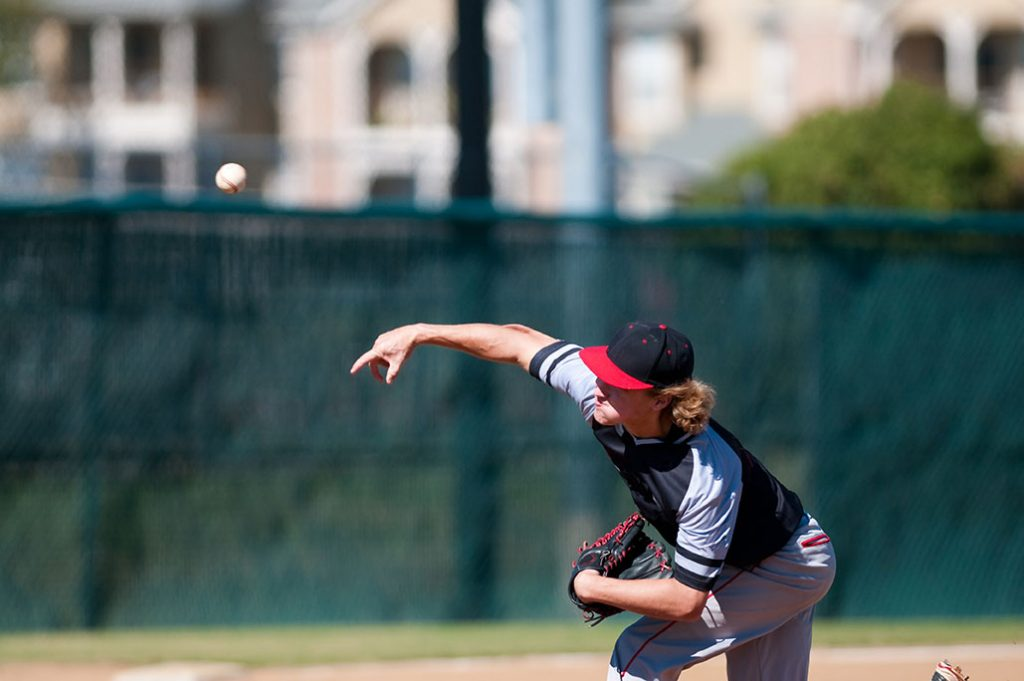 Pitcher with valgus extension overload
